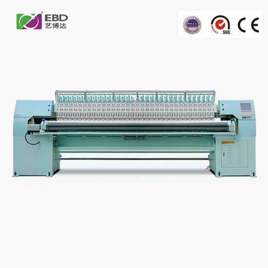 Ybd166 High Speed Full-Automatic 66 Needles Yiboda Quilting Embroidery Machine with 3302mm Working Width