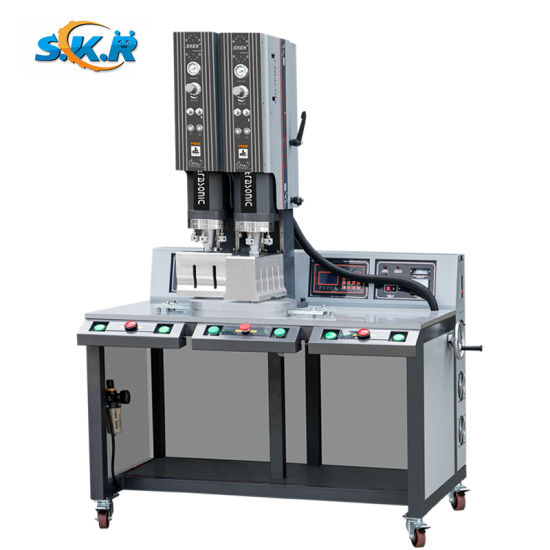 China Digital 15kHz 3200W Ultrasound Machine Price for Non Woven Nylon Cutting Sealing Punching Hole pictures & photos