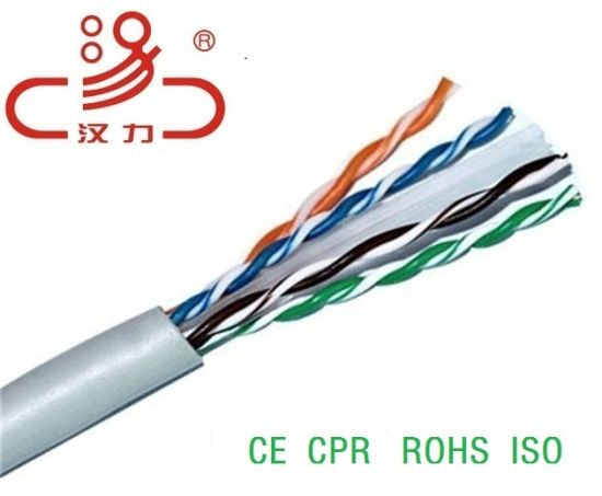 UTP CAT6 LAN Cable CMP Cable Belden Cable pictures & photos