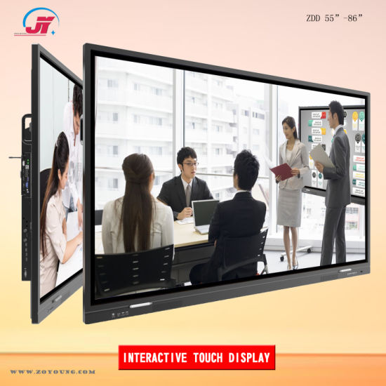 55 65 75 86 98 Inch Interactive Touch Screen Smart Electronic Whiteboard Display for Meeting Conference and Classroom Education (ILD-IT650-XZMS638)