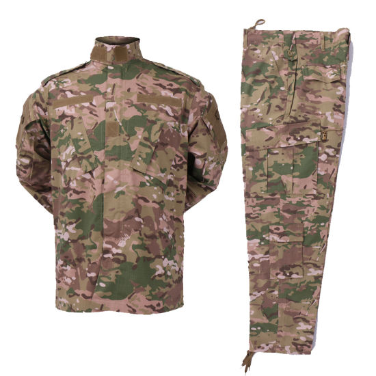High Quality Factory Supply Camouflage Army Military Uniform