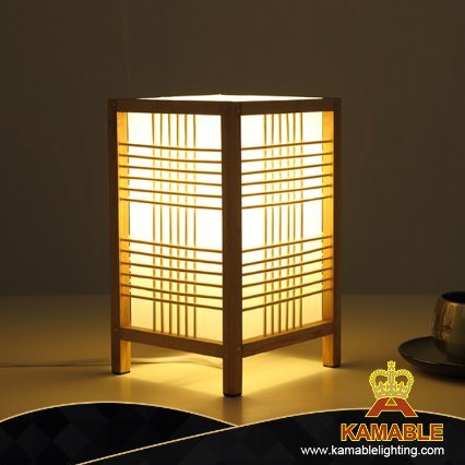 Home Decorative Bamboo Reading Table Lamp (KAPLT-0059)