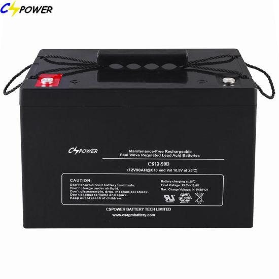 Maintenance Free 12V 90ah Sealed VRLA AGM Lead Acid Battery