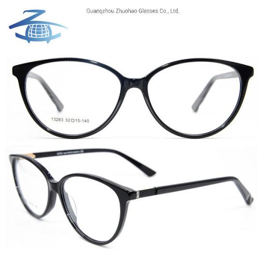 d6d93b4e4646 Wholesale Factory Custom New Arrival Acetate Spectacle Cat Eye Optical  Glasses Frame for Women