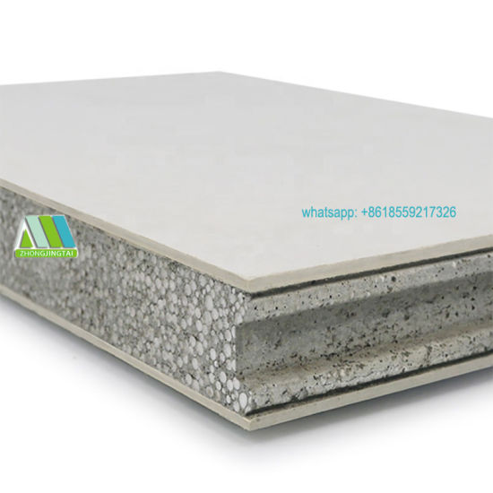 SGS/TUV Approved Fire Rated Lightweight Solid Composite Concrete Wall Panels