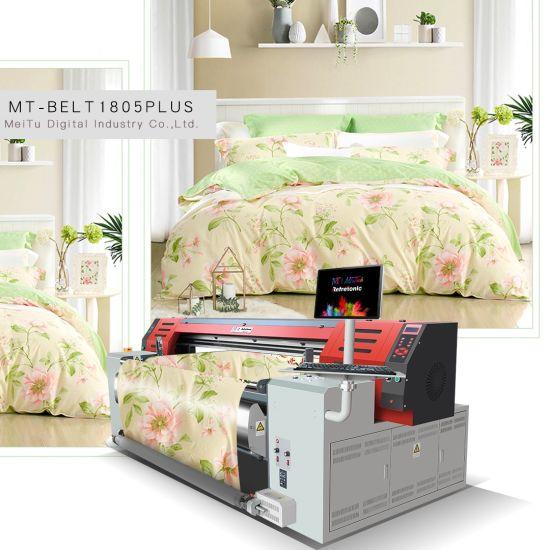 Mtutech Digital Large Format Belt Textile Printing Machine Direct to Fabric Printer