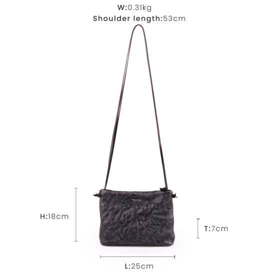 Wholesale of Genuine Leather Women Shoulder Handbag pictures & photos