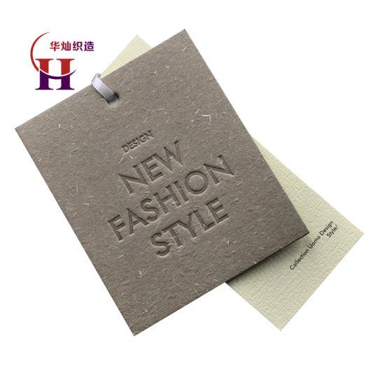 China Custom Swing Tags String Hang Tag