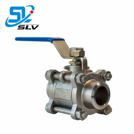 Ss 1.4408 Stainless Steel Butt-Welded Ball Valve pictures & photos