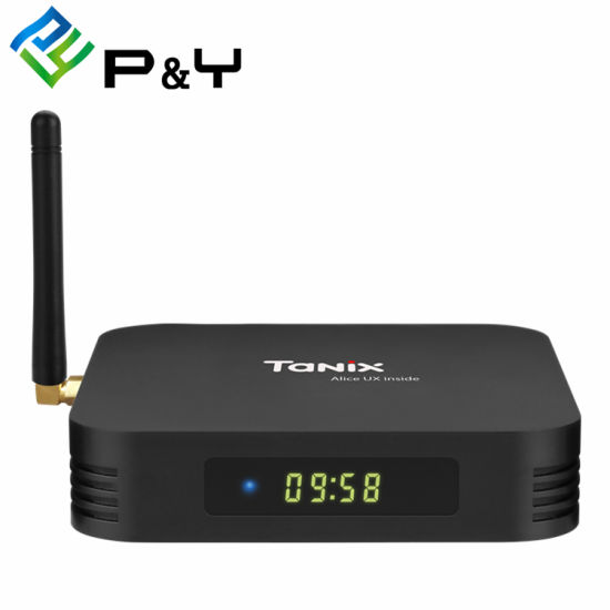 2019 Tanix Tx6 H6 4G 32g 5.8g WiFi Android 9.0 Media Player 4K TV Box pictures & photos