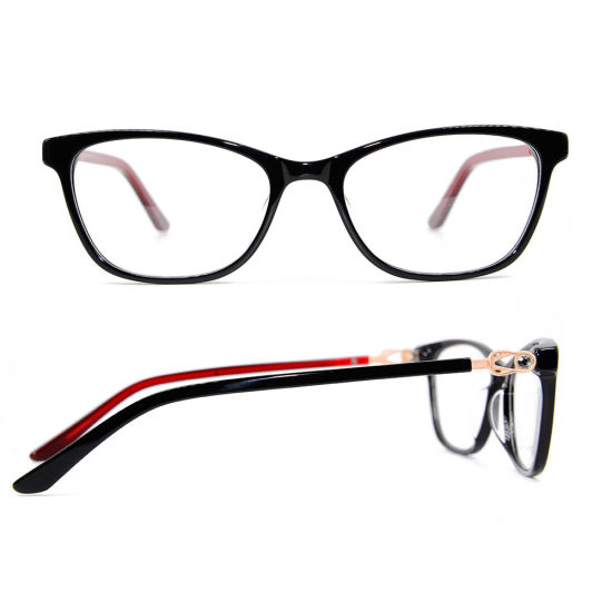 0e5e95463453 Ready Stock Best Quality Frame Designers Women Glasses Acetate Made in China