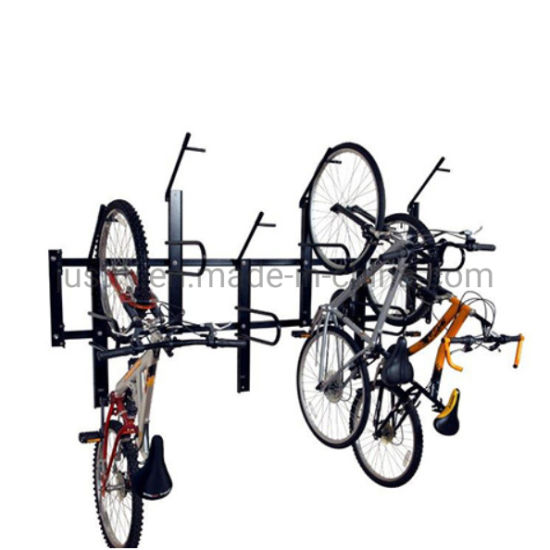 Wall Mounted Vertical Bike Rack Bicycle Track
