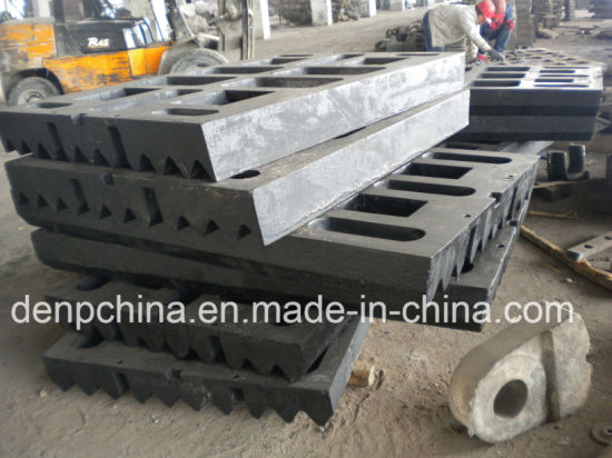 High Quality Shanbao Jaw Plate for Sale pictures & photos