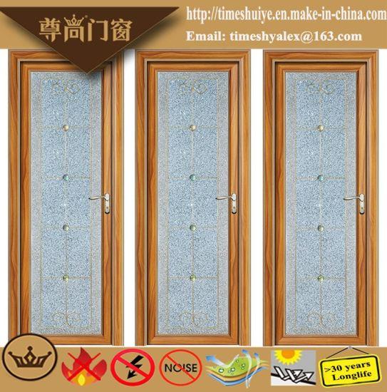 China Foshan Factory Price Double Layer Dark Brown Glass Aluminum
