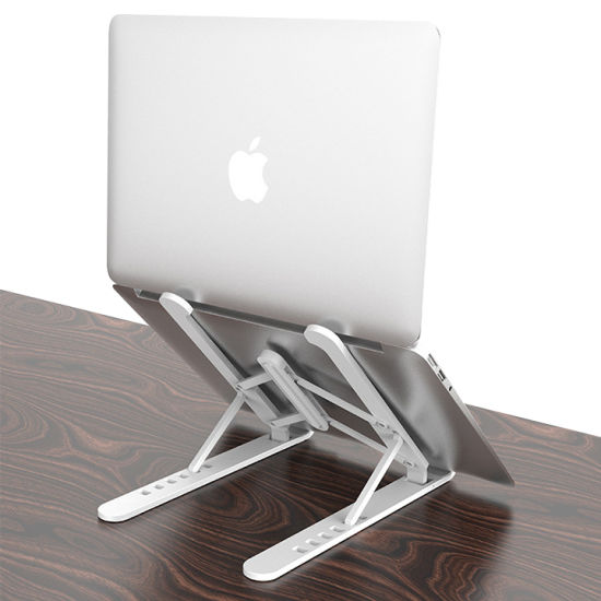 Seven Angles Adjustable Laptop Tablet Holder MacBook Bracket Desktop Foldable Laptop Stand