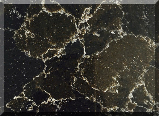 Hot Sale Artificial Quartz Stone Slab for Kitchen Countertop pictures & photos