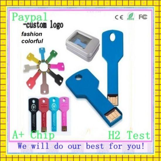8GB USB Flash Drive of Key Shape USB (GC-K88)