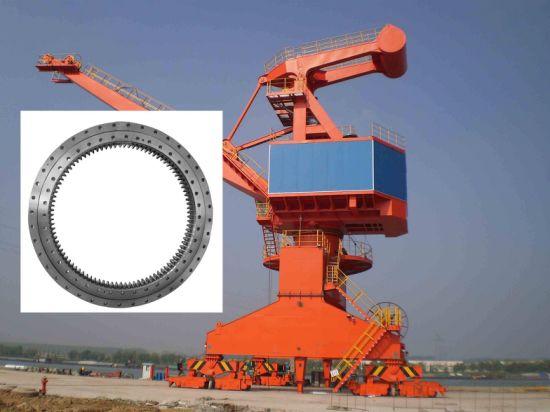 Internal Gear 133.45.3150 Slewing Ring Bearings for Deck Cranes