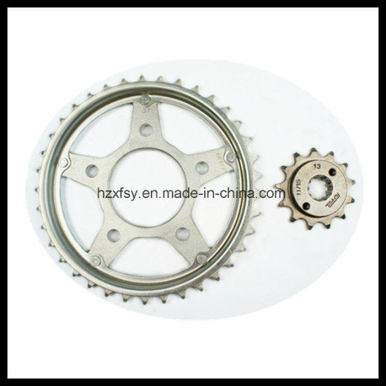 Motorcycle Chain Sprocket Kit, Chain Sprocket for Motorcycles, Motorcycle Parts Manufacturers pictures & photos