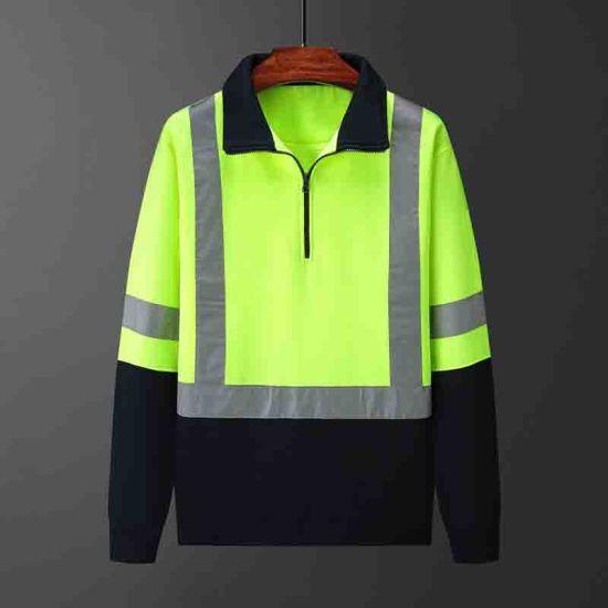 Workwear Polo Shirt Hivis Safety Wear