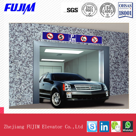 Automobile Elevator with Steady Speed and Big Lift Car pictures & photos