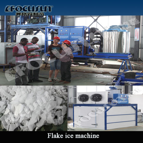 10tons Ice Flake Making Machine pictures & photos