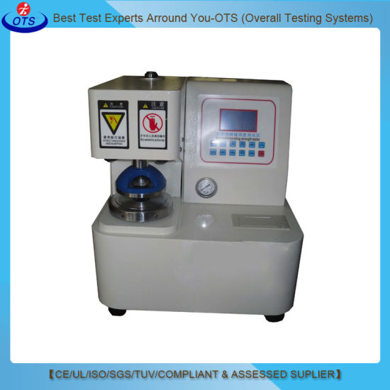 Electronic Digital Paper Bursting Strength Testing Equipment