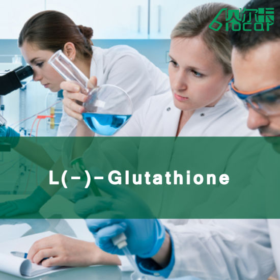 99.6% High Purity L (-) -Glutathione Pharmaceutical Raw Material Cosmetics (CAS: 27025-41-8)
