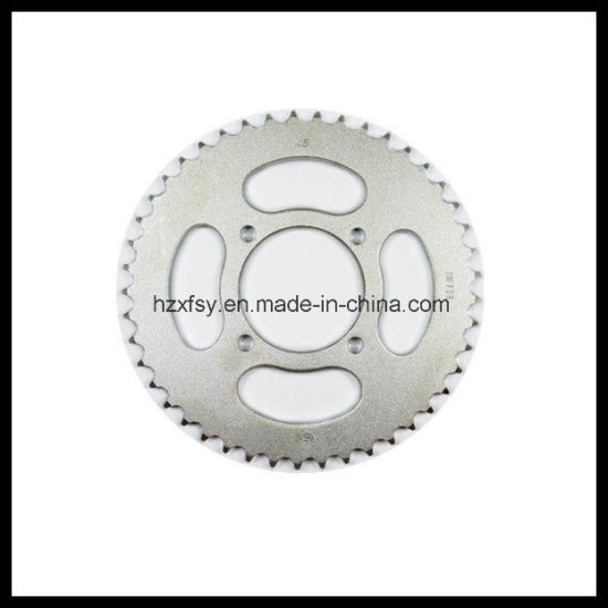 Brazil Motorcycle Chain Sprocket Type Spare Part High Frequency Ybr125 pictures & photos