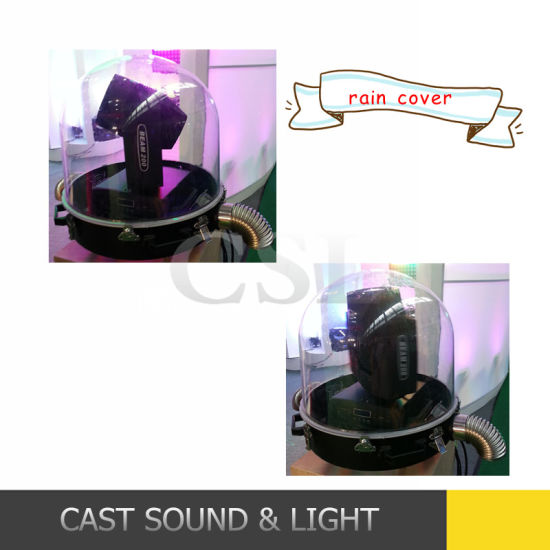 Cheapy Waterproof Rain Cover for Moving Head Light pictures & photos