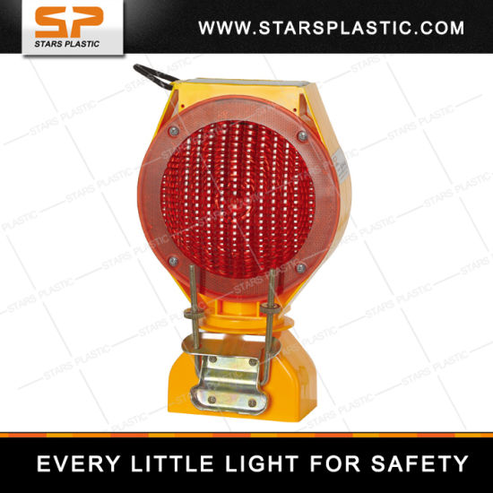 Solar LED Safety Warning Barricade Light pictures & photos