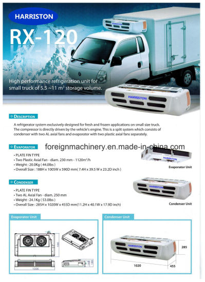 High Quality Refrigeration Unit Rx-120 for Small Storage Volume Type pictures & photos