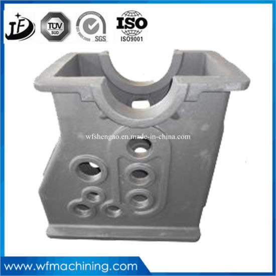 OEM Wholesale Custom Iron/Steel Gearbox Housing/Body Sand Casting with Painting pictures & photos