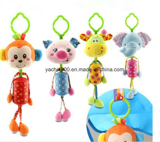 Wholesale Plush Soft Stuffed Baby Education Children Toys