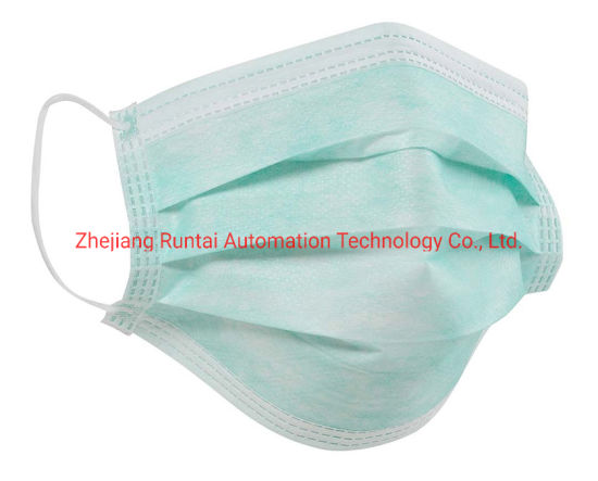Loops Line Elastic Disposable Mask Surgical Face With Production
