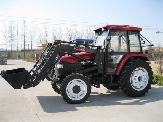 Front End Loader Map804 100HP Pto Hydraulic Pump Tractor
