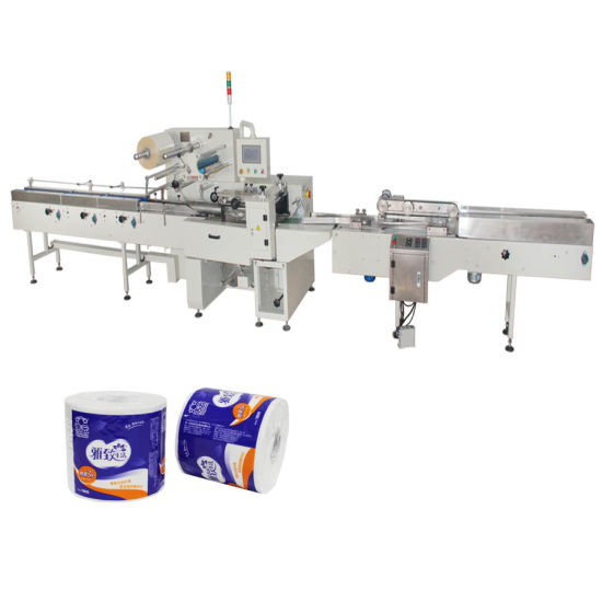 Toilet Tissue Wrapping Sanitary Paper Packaging Machine