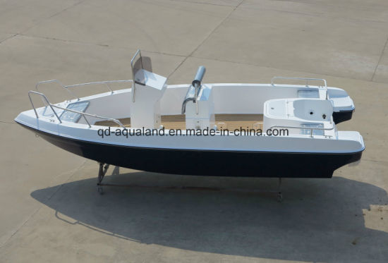 Aqualand 21feet 6.25m Fiberglass Motor Boat/Sports Fishing Boat/Pleasure Boat (205c) pictures & photos