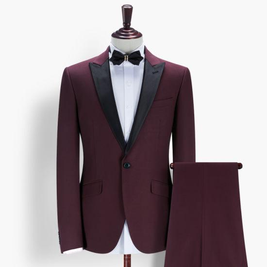 c23f74dd83 High Quality Fashion Men Slim Fit Wedding Men Suits pictures & photos