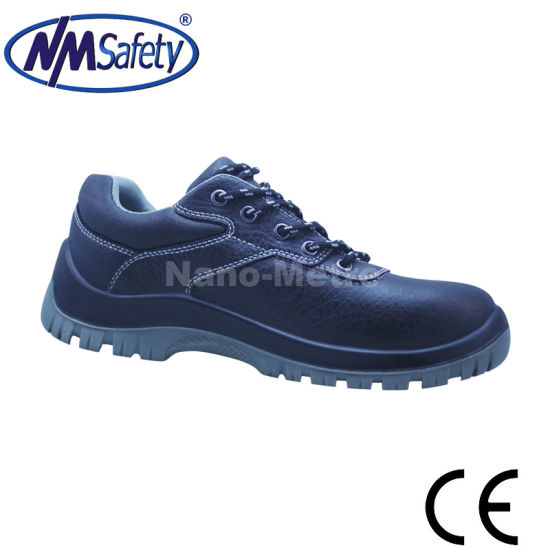 Nmsafety Low Cut Lightweight Leather Safety Shoes pictures & photos