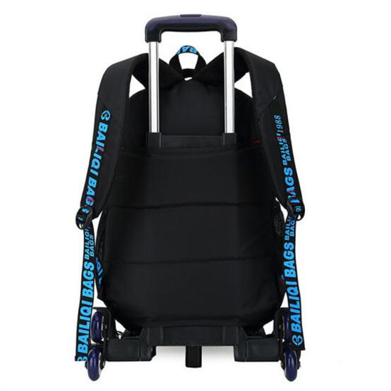 Primary and Middle School Students Detachable Trolley Backpack (GB#098) pictures & photos