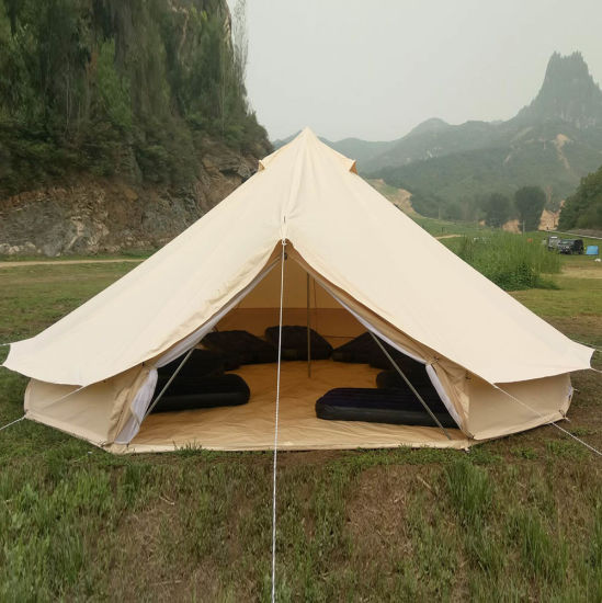 Outdoor C&ing Waterproof Canvas Large Teepee for Sale : large canvas tent - memphite.com