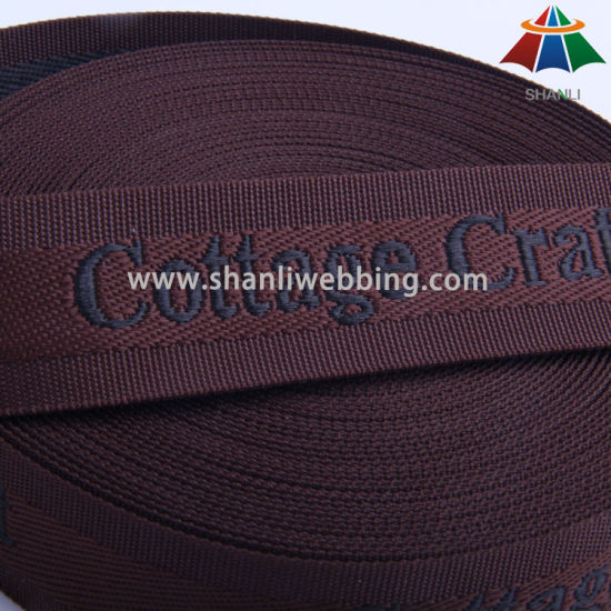 35mm Polyester Jacquard Webbing for Cottage Craft