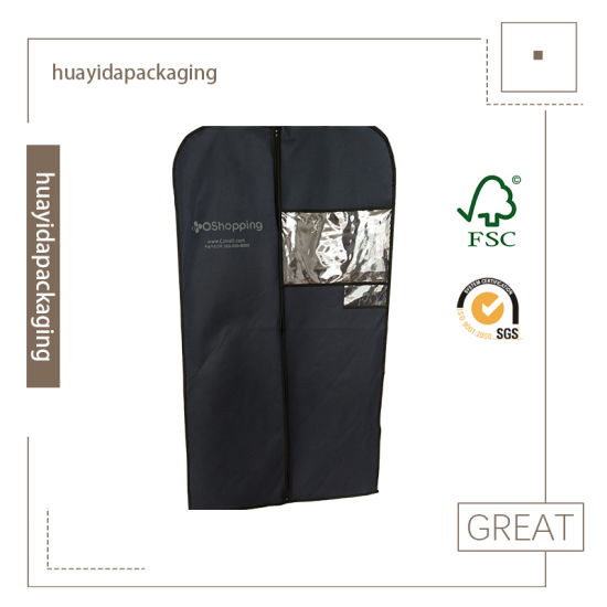 Eco-Friendly Non-Toxic Cloth Garment Suit Bag pictures & photos