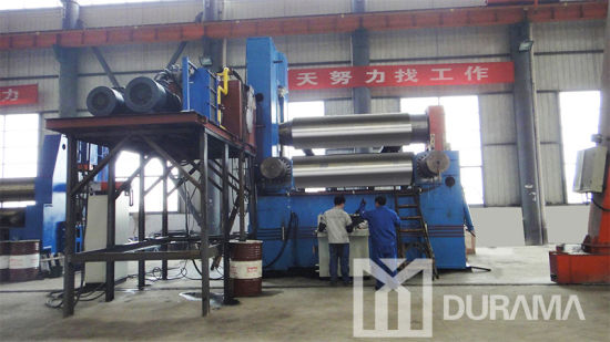 Mechanical 3 Roller Plate Bending Machine (W11X-16X2500) pictures & photos