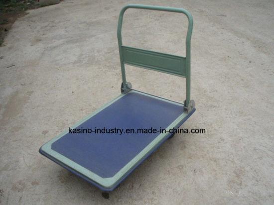 300kgs Capacity Folding Platform Trolley/Hand Pallet Truck
