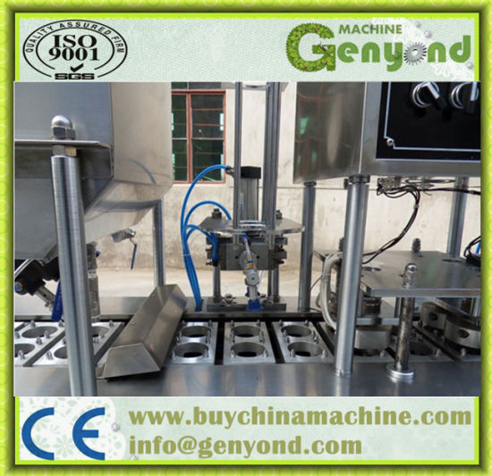Fully Automatic Yogurt Cup Filling Machine pictures & photos