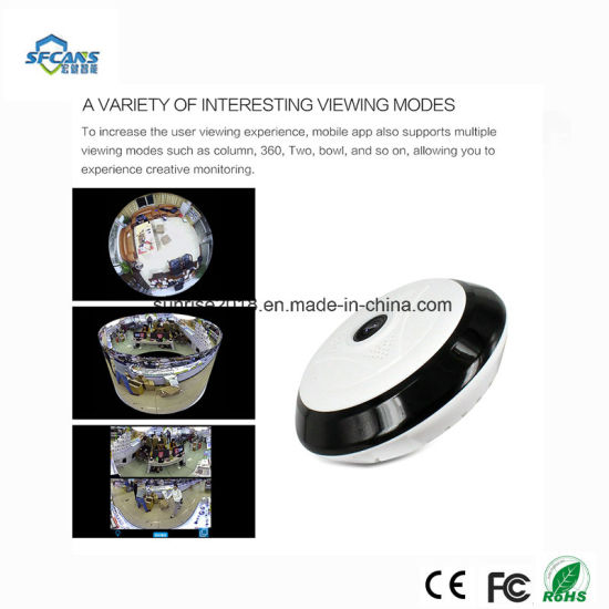 Infrared Night Vision Fisheye Home Surveillance Security CCTV Camera