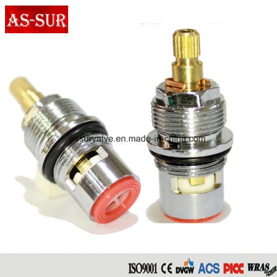 China Chrome Plated Brass Ceramic Core/Cartridge as-Cr3074