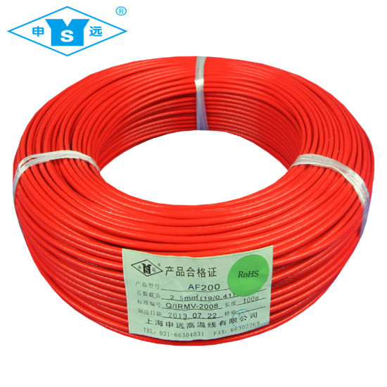 China FF46-1 / FF46-2 Hi-Temp FEP Teflon Wire - China Single Core ...